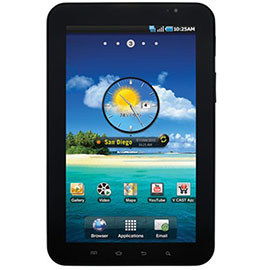 Samsung Galaxy Tab 7in SPH-P100