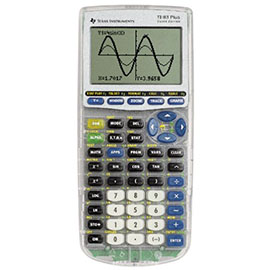 Texas Instruments TI-83 Plus Silver Graphing