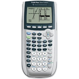 Texas Instruments TI-84 Plus Silver Graphing
