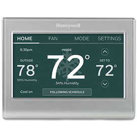 Smart Color Thermostat with WiFi