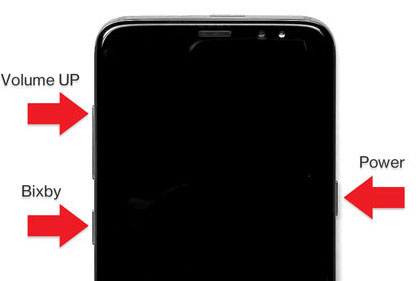 galaxy s8 buttons