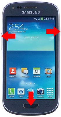 how to delete or reset samsung gs 5 calendar