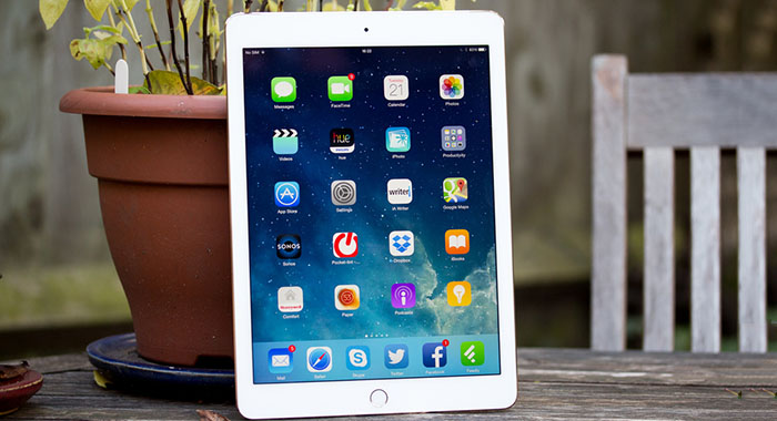 How to hard reset apple ipad air