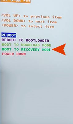 HTC Reboot to Recovery Mode