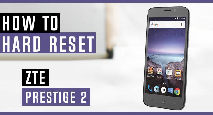 Zte Prestige 2 Setup