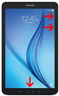 Samsung Galaxy Tab E - All Buttons